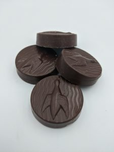 a picture of sugar-free chocolate developed by NutraEx